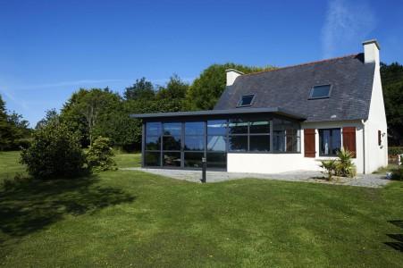 Extension de maison, par Armoral, expert de la menuiserie aluminium à Brest